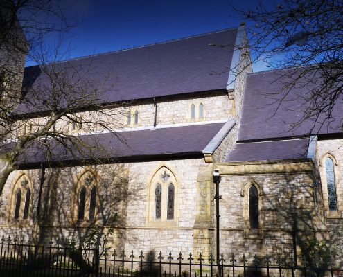 Roofing, Contractor, St James' Church, East Crompton, Shaw, English Heritage Listed