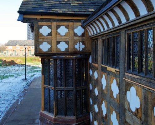 Roofing Main Contractor, Ordsall Hall, Salford, Grade I Listed