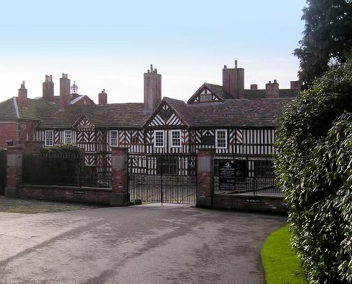 Roofing Contractor, Adlington Hall Stately Home, Nr Macclesfield, Grade I Listed