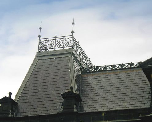 Roofing Main Contractor, Buxton Town Hall, Grade II Listed, English Heritage
