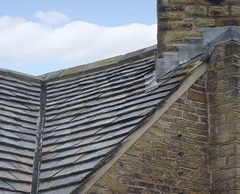 stone slating, slates, Farmhouse, Lancashire, Grade II Listed